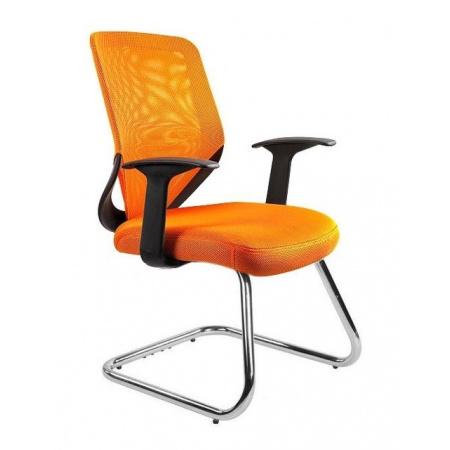 Unique Mobi Skid Fotel biurowy, pomarańczowy W-953-5