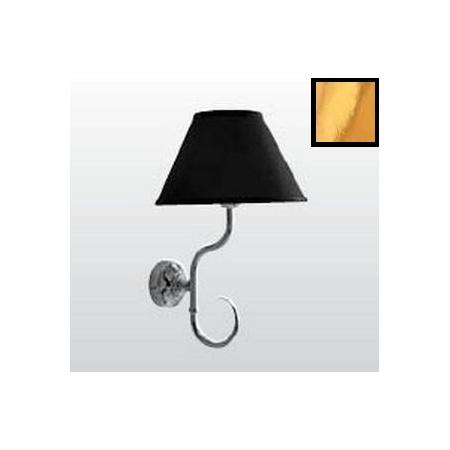 Kerasan Retro Lampa wisząca, czarna/złota 7367K1