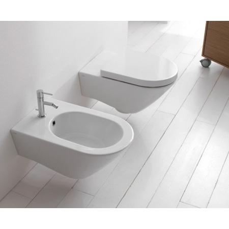 Globo Concept Miska WC wisząca 57x36cm, biała SAS02.BI