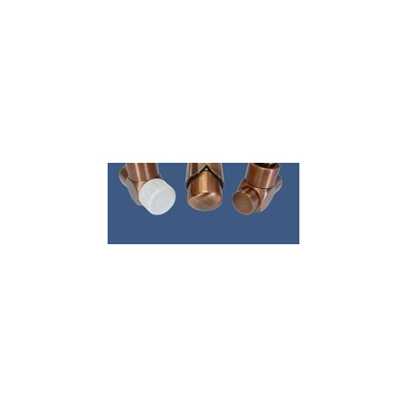 Schlosser Zestaw łazienkowy Exclusive GZ1/2 x złączka 16x2 PEX - osiowo prawy antyczny mosiądz (601700147)