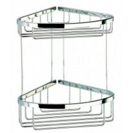 Geesa Basket Koszyk na przybory toaletowe, narożny, dwupoziomowy 183
