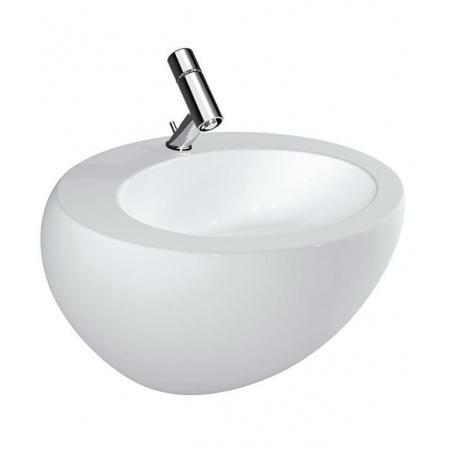 Laufen Alessi One Umywalka wisząca 60x52,5 cm bez otworu na baterię biała H8109724001091