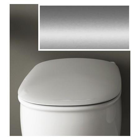 Art Ceram Azuley Deska wolnoopadająca 36x52 cm, biała, zawiasy chrom AZA00101;71