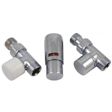 Schlosser Elegant Mini zestaw termostatyczny 1/2 x M22x1,5, prosty, chrom 6034 00010