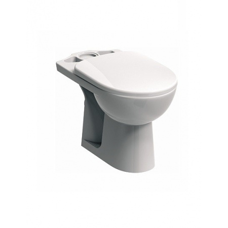 Koło Nova Pro Miska WC kompaktowa lejowa, biała M33201