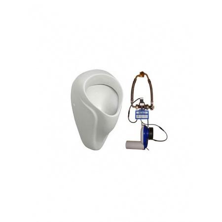Koło Nova Pro Zestaw pisuarowy - pisuar Alex + termiczny system spłukujący zasilany z sieci, biały 69016