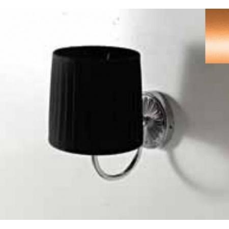 Art Ceram Versailes Lampa ścienna z czarnym kloszem 18x26x24 cm, brązowy HEA039;72