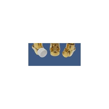 Schlosser Zestaw łazienkowy Exclusive GZ1/2 x złączka 16x2 PEX - kątowy złoto (601700140)