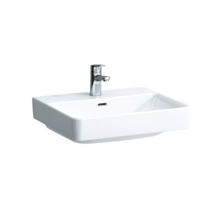 Laufen ProS Umywalka 55x46,5 cm z otworem na baterie, biała H8169620001041