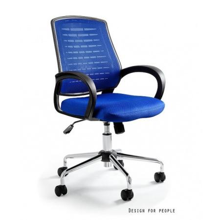 Unique Award Fotel biurowy, niebieski W-120-7