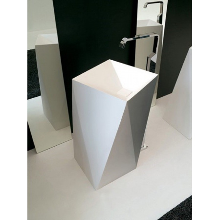 Art Ceram Sharp Umywalka wolnostojąca 50x50 cm, biała L3200 / OSL00801;00