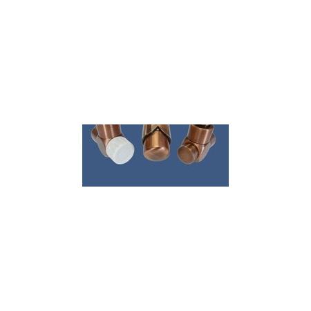 Schlosser Zestaw łazienkowy Exclusive GZ1/2 x złączka 16x2 PEX - osiowo prawy antyczna miedź (601700144)