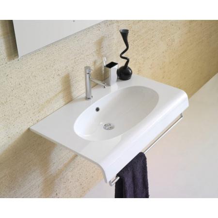 Globo Bowl Umywalka wisząca 80x50 cm biała BP080.BI