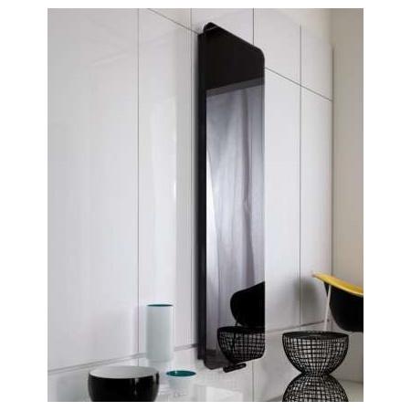 Instal Projekt Indivi New Grzejnik 50x160 cm, szkło czarne INDN-50/160E31L05