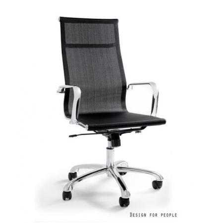 Unique Drafty Fotel biurowy, czarny WX-14A-4