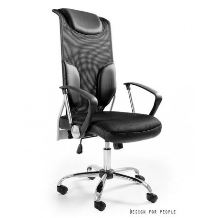 Unique Thunder Fotel biurowy, czarny W-58-4