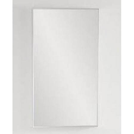 Antado Akcesoria łazienkowe Lustro Aluminium białe ALB-40x80