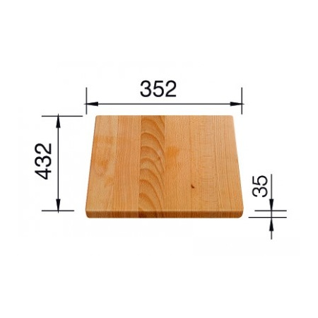 Blanco deska drewniana do PLENTA (219891)