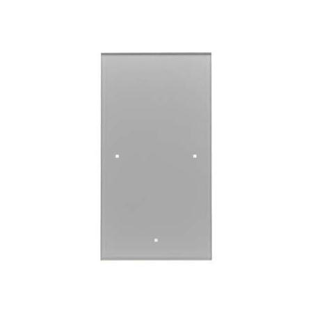 Berker TS Sensor Włącznik szklany dotykowy 1-krotny, aluminium 168107