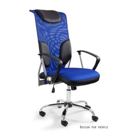 Unique Thunder Fotel biurowy, niebieski W-58-7