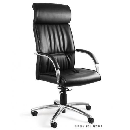 Unique Brando Fotel biurowy, czarny C049