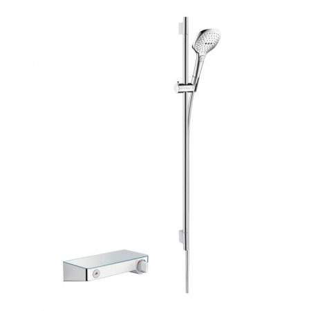 Hansgrohe ShowerTablet Select 300 Zestaw prysznicowy termostatyczny Combi 0.90 m, chrom 27027000