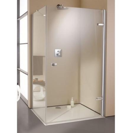 Huppe Enjoy Elegance Ścianka boczna do drzwi ze stałym segmentem, chrom 670160.091.321