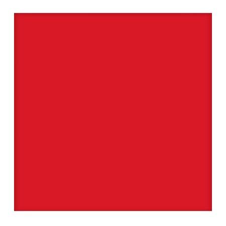 Tubądzin Pastele Płytka ścienna 200x200 mm, czerwony mat TUBPASTPS20CZEM