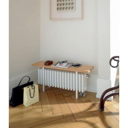 Zehnder Charleston Relax Grzejnik łazienkowy 60x26 cm, biały CR 5026-13