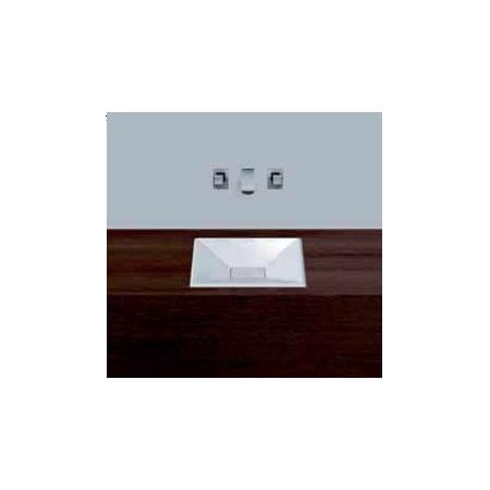 Alape umywalka emaliowana EB.KF400 biała wymiary 50 x 400 x 400 nr kat. 2305000000
