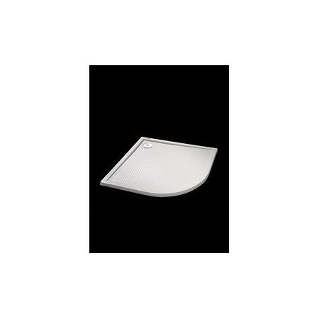 Huppe Purano - Brodzik 90x90 cm płaski 1/4 koła, biały 202151055