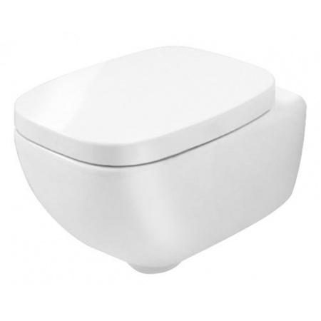 Hidra Dial Muszla klozetowa miska WC podwieszana 49x38x42 cm, biała DLW20
