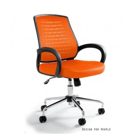 Unique Award Fotel biurowy, pomarańczowy W-120-5