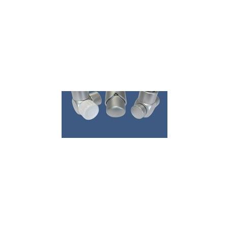 Schlosser Zestaw łazienkowy Exclusive GZ1/2 x złączka 16x2 PEX - kątowy satyna (601700119)