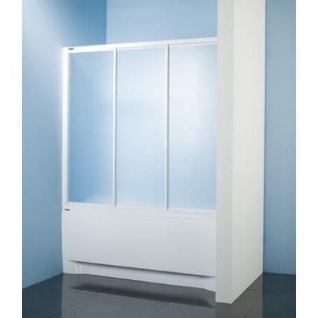 Sanplast Classic DTr-c-W Parawan nawannowy 150x140 cm, biały Polistyren 600-013-2431-01-520
