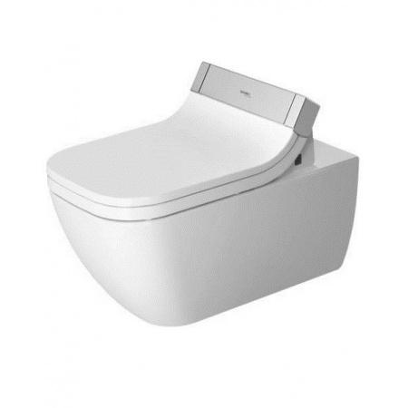 Duravit Happy D.2 Miska WC wisząca Rimless z powłoką Wondergliss, biała 2550590001