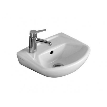 Villeroy & Boch Omnia classic Umywalka klasyczna mała 36x30 cm bez przelewu - Weiss Alpin Ceramicplus (732637R1)