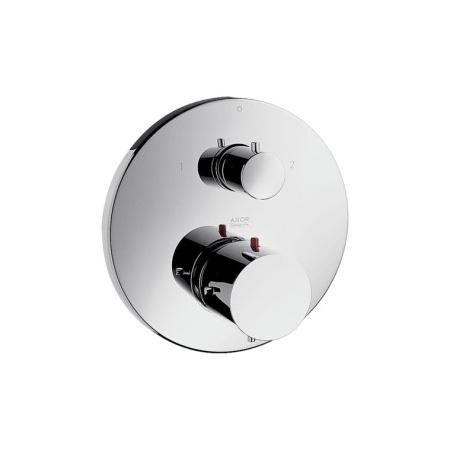 Axor Starck Jednouchwytowa bateria termostatyczna podtynkowa z zaworem odcinająco-przełączającym, chrom 10720000