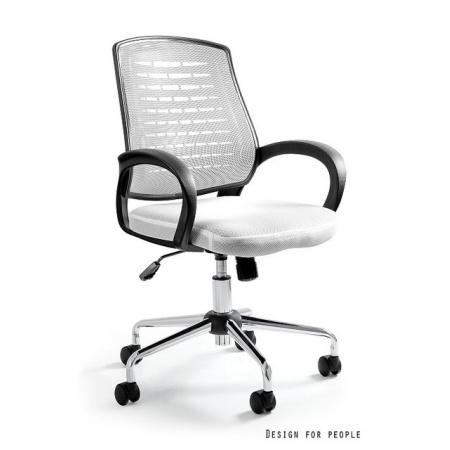 Unique Award Fotel biurowy, biały W-120-0