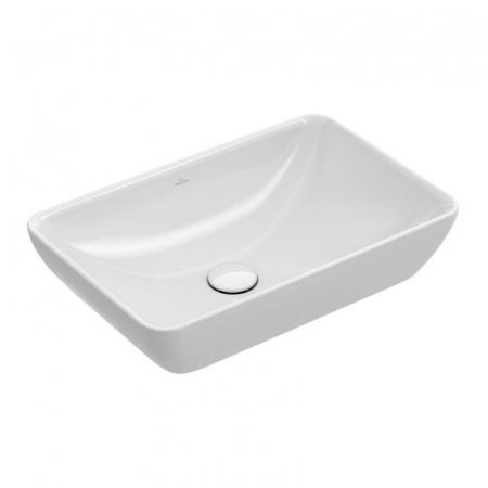 Villeroy & Boch Venticello Umywalka nablatowa 55x36 cm z powłoką CeramicPlus, biała Weiss Alpin 411355R1