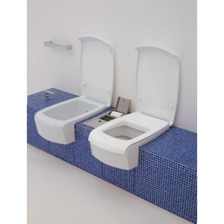 Flaminia Una Miska WC wisząca 52x37,4x17cm, biała UNA/WC