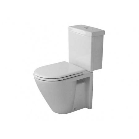 Duravit Starck 2 Miska toaletowa lejowa 35,5x64 cm stojąca, z powłoką WonderGliss (02380900001)