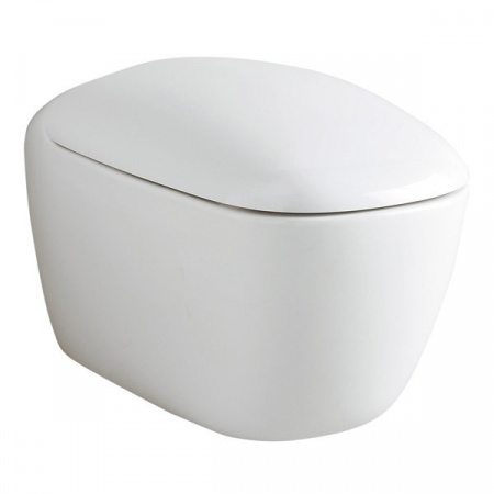 Keramag Citterio Toaleta WC lejowa 56x36 cm z powłoką Keratect, biała 203550600