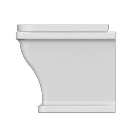 Scarabeo Butterfly Muszla klozetowa miska WC stojąca 52,5x36,5x42 cm, biała 4008