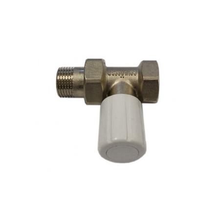 Schlosser DN15 zawór grzejnikowy z pokrętłem 1/2x1/2 prosty 6014 00018