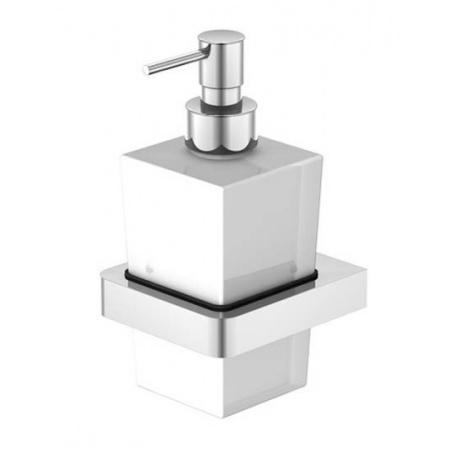 Steinberg 420 Dozownik na mydło wiszący, chrom/biały 4208001