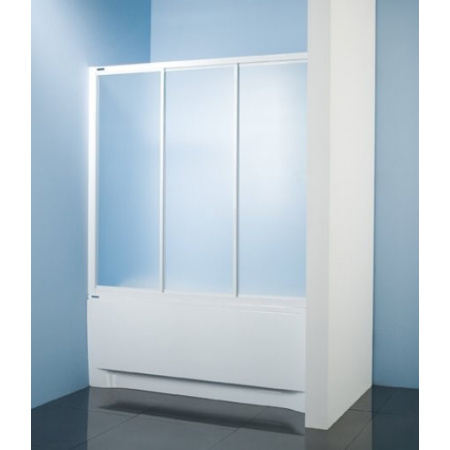 Sanplast Classic DTr-c-W Parawan nawannowy 140x140 cm, biały EW Polistyren 600-013-2421-01-520