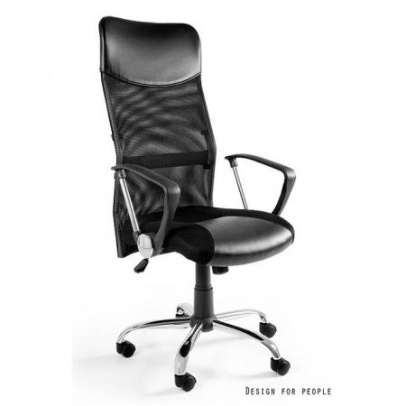 Unique Viper Fotel biurowy, czarny W-03-4