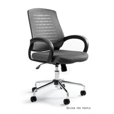Unique Award Fotel biurowy, szary W-120-8