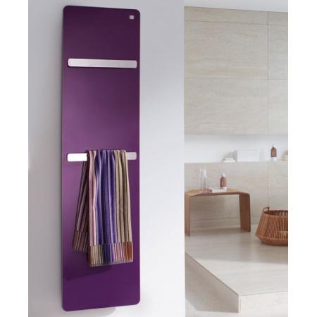 Zehnder Vitalo Bar Grzejnik łazienkowy 125x40 cm, biały VIP 125-040